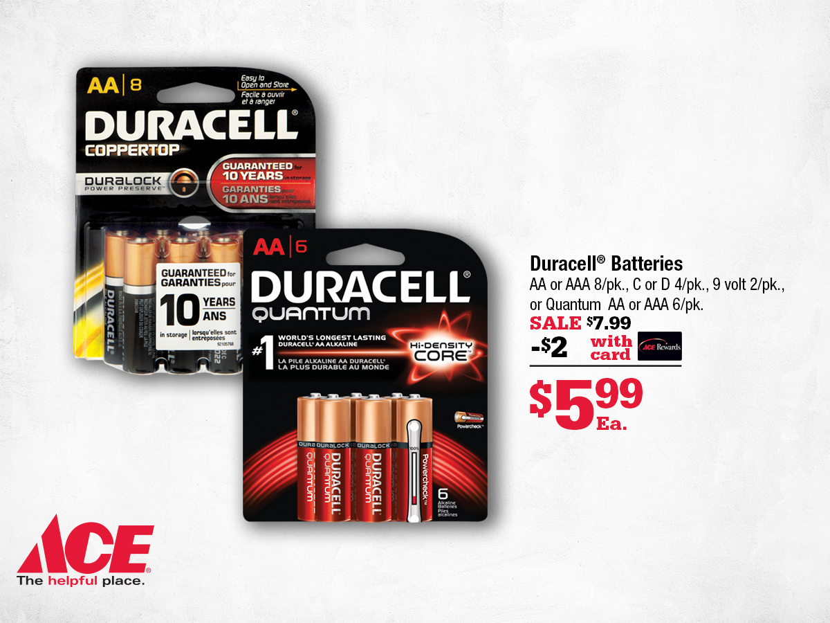 Batteries on Sale