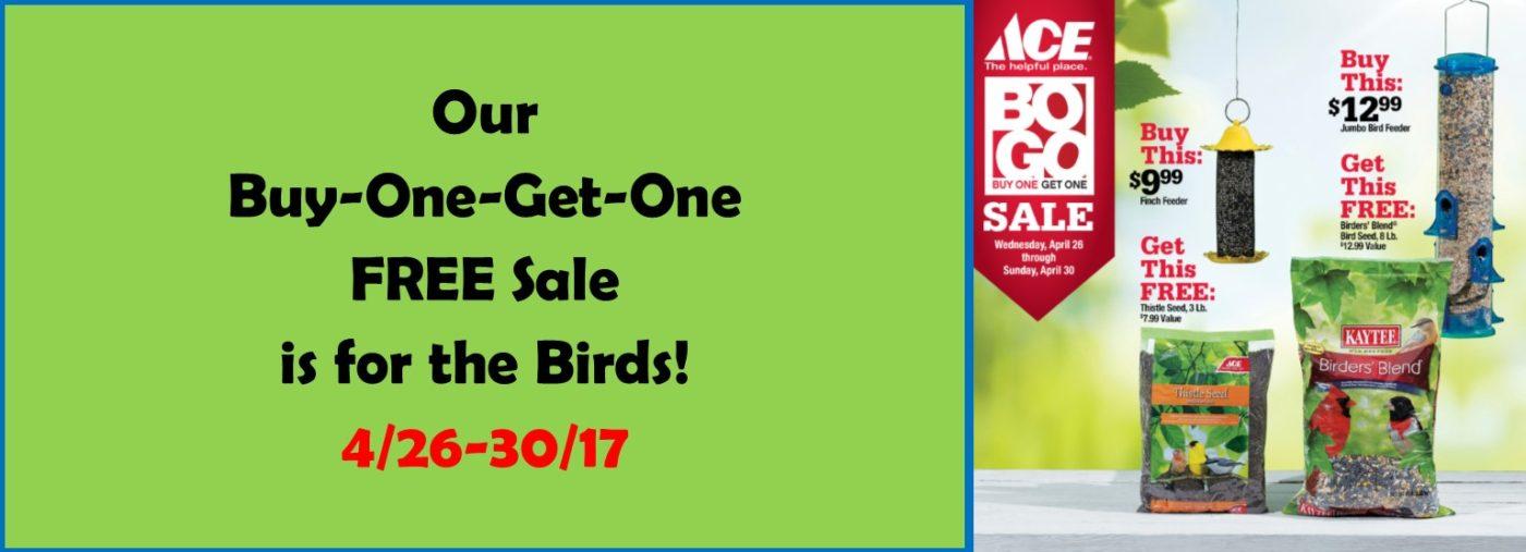 BOGO Sale on Birding items