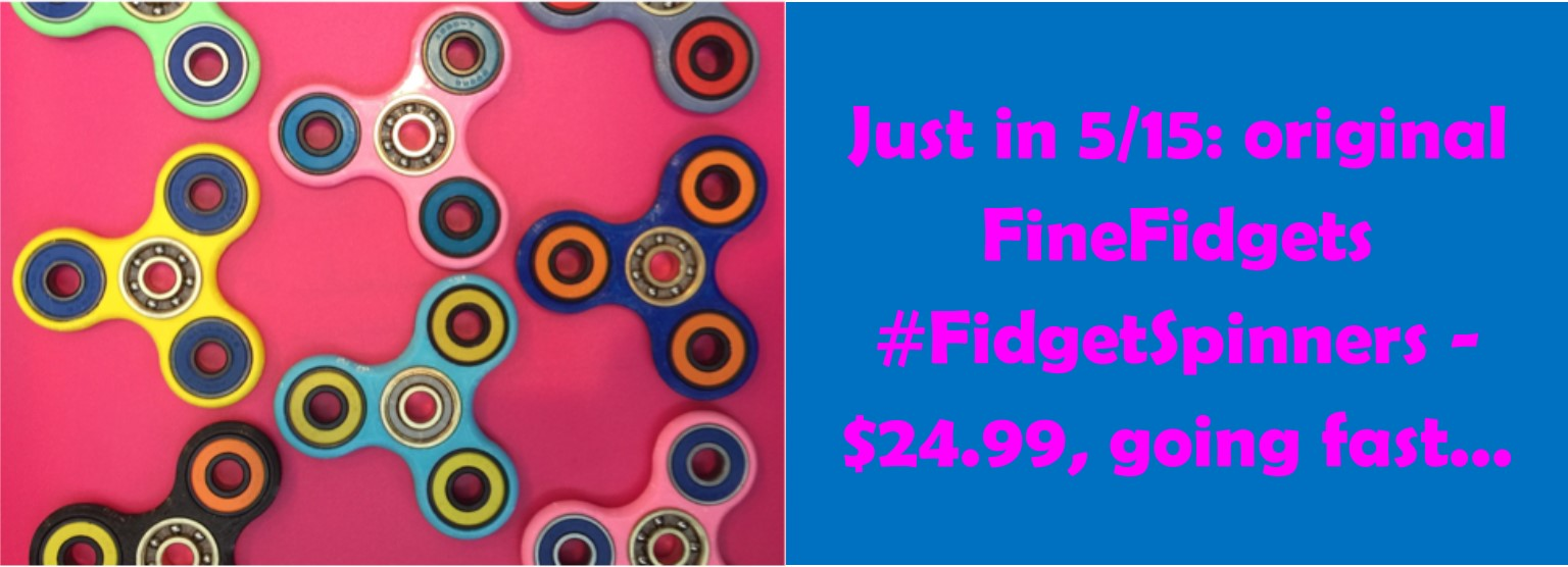 Fidget Spinners at Standard 5&10 Ace