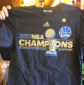 Golden State Warriors NBA Champions Tee