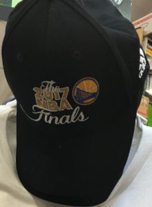 Warriors 2017 NBA Finals Black Hat