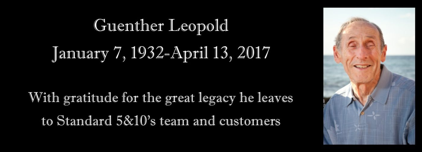 In Memoriam - Guenther Leopold