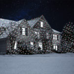 Snowfall Laser Light Projector