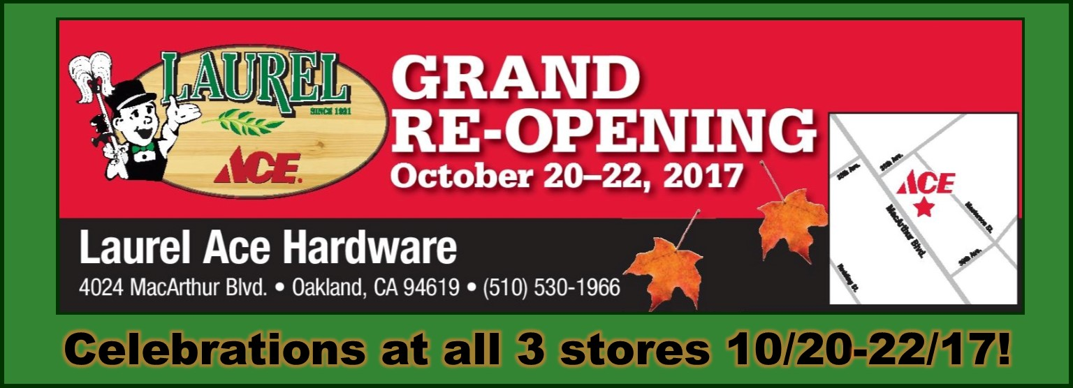 Grand Reopening Celebration 10/20-22