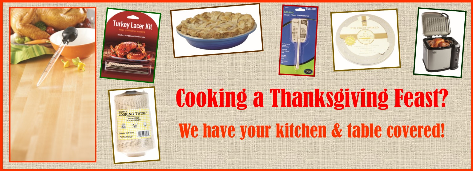 We can help with your Thanksgiving feast!