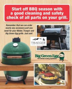 Big Green Eggs and Traeger at the 5&10