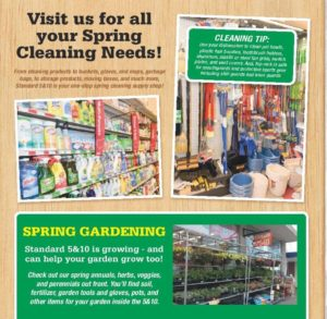 Spring Cleaning and Spring Gardening tips
