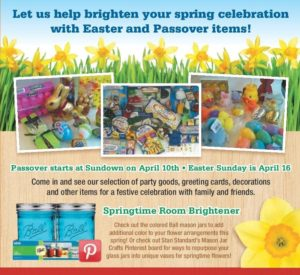 Easter and Passover, plus Pinterest spring Mason Jar craft tips