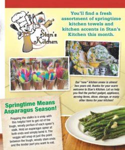 Springtime at Stan's Kitchen