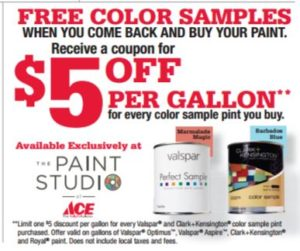 Free Color Samples