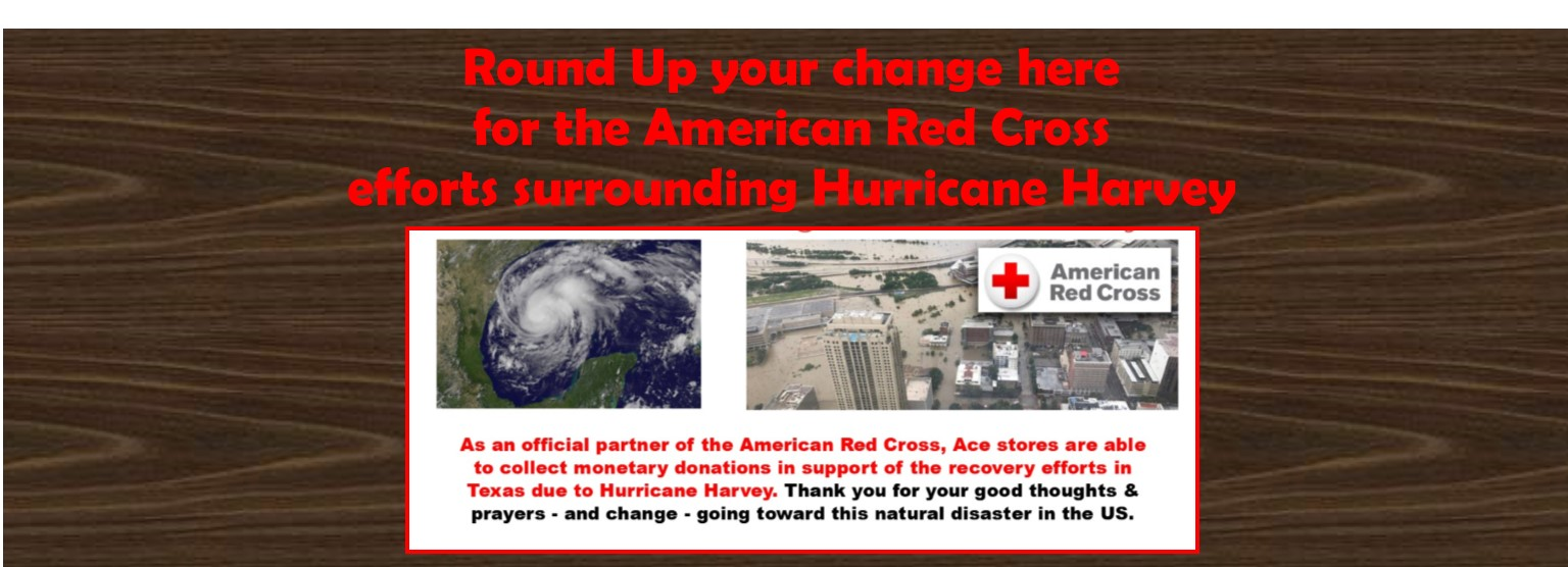 Round Up for Hurricane Harvey