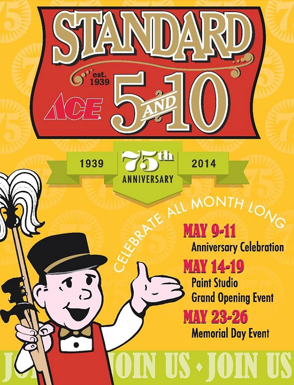 Standard 5and10 75th Anniversary Flyer