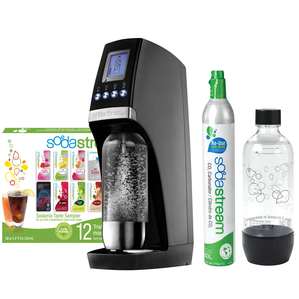 Sodastream Revolution Black & Silver