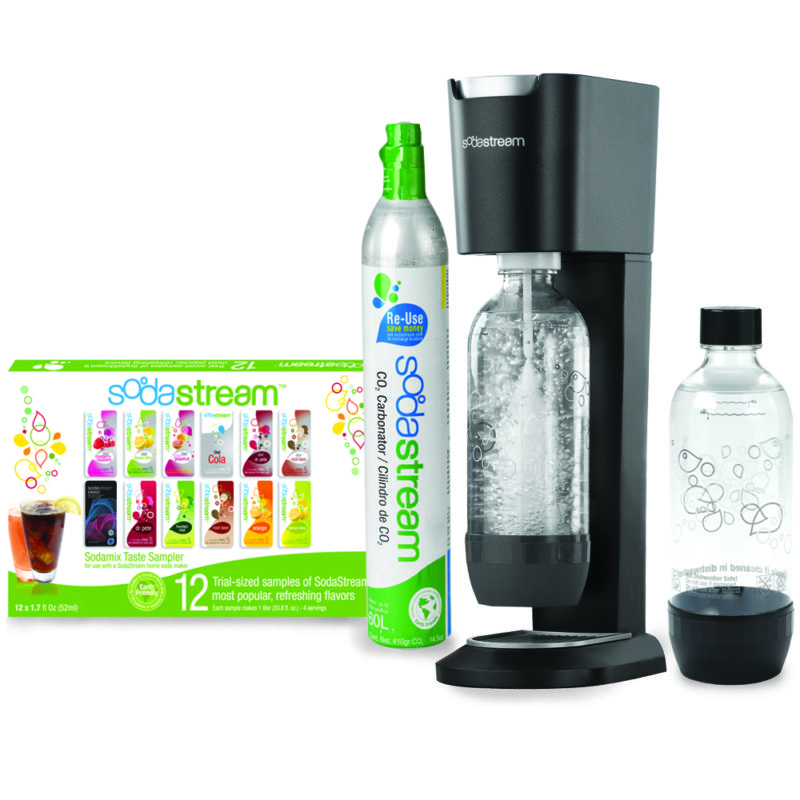 Sodastream Genesis Soda Machine Black