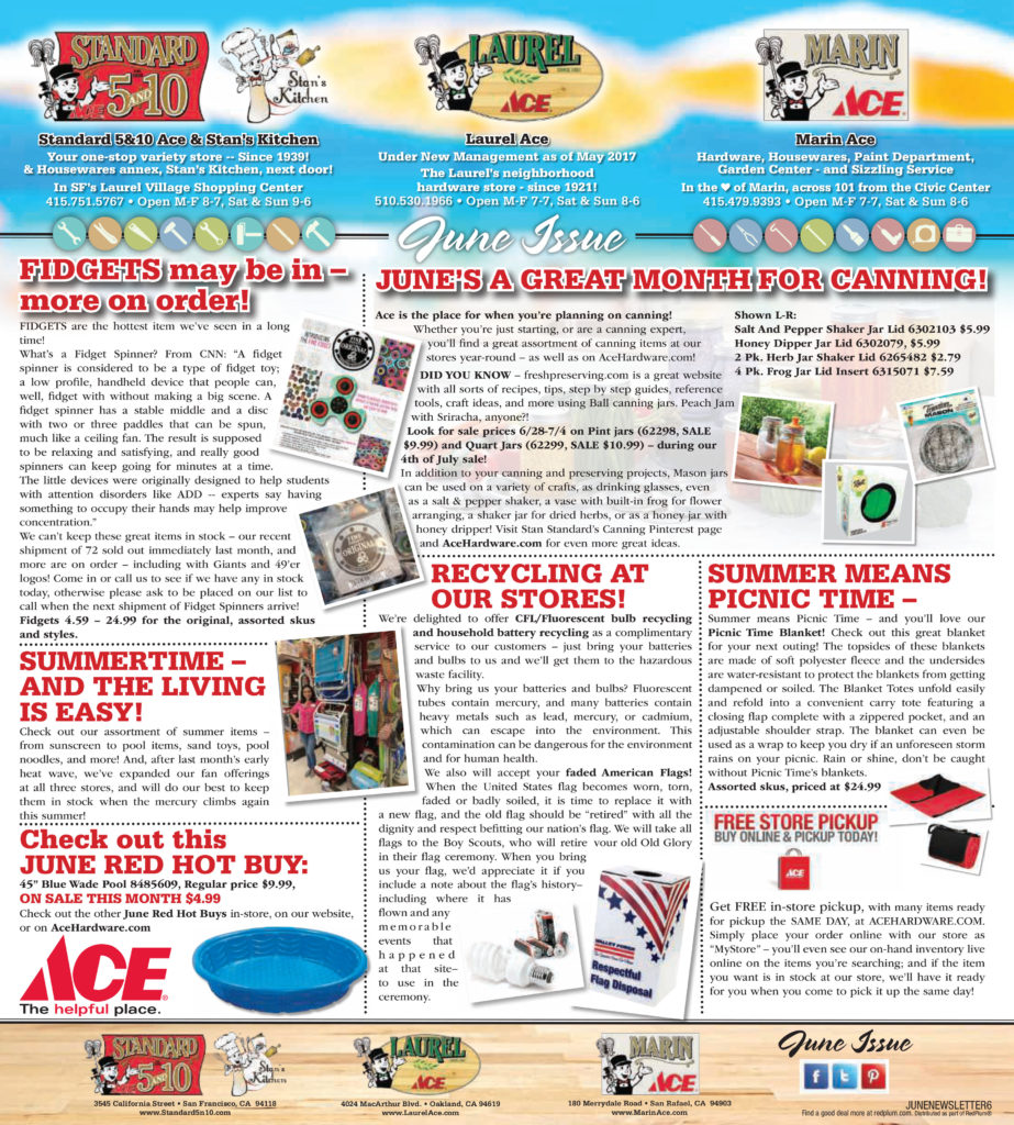 June 2017 Newsletter - Page 1