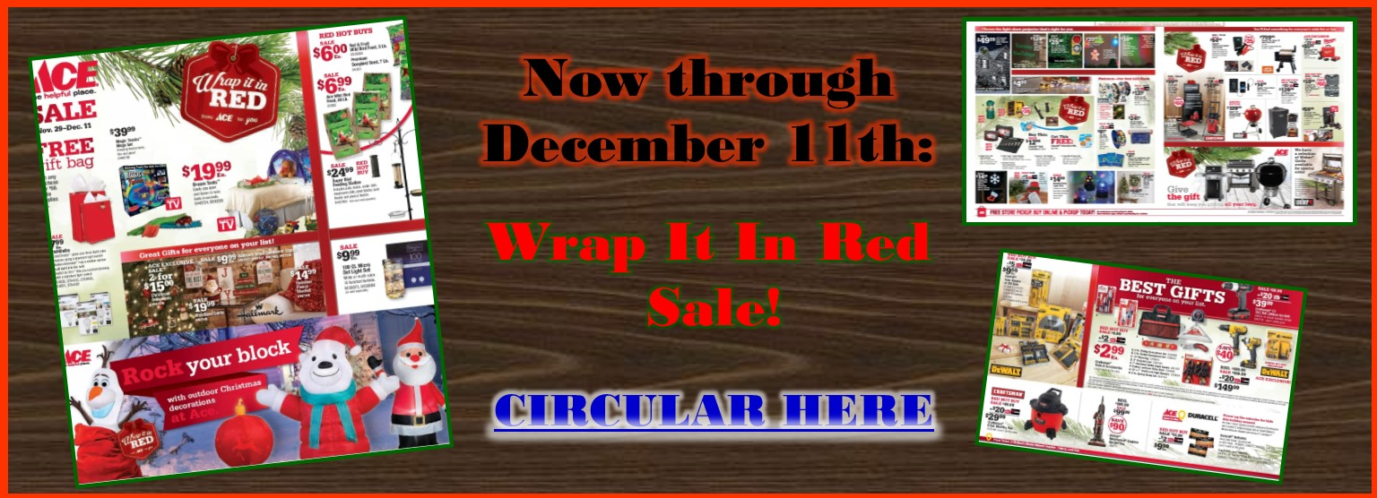Wrap it in Red Sale thru 12/11