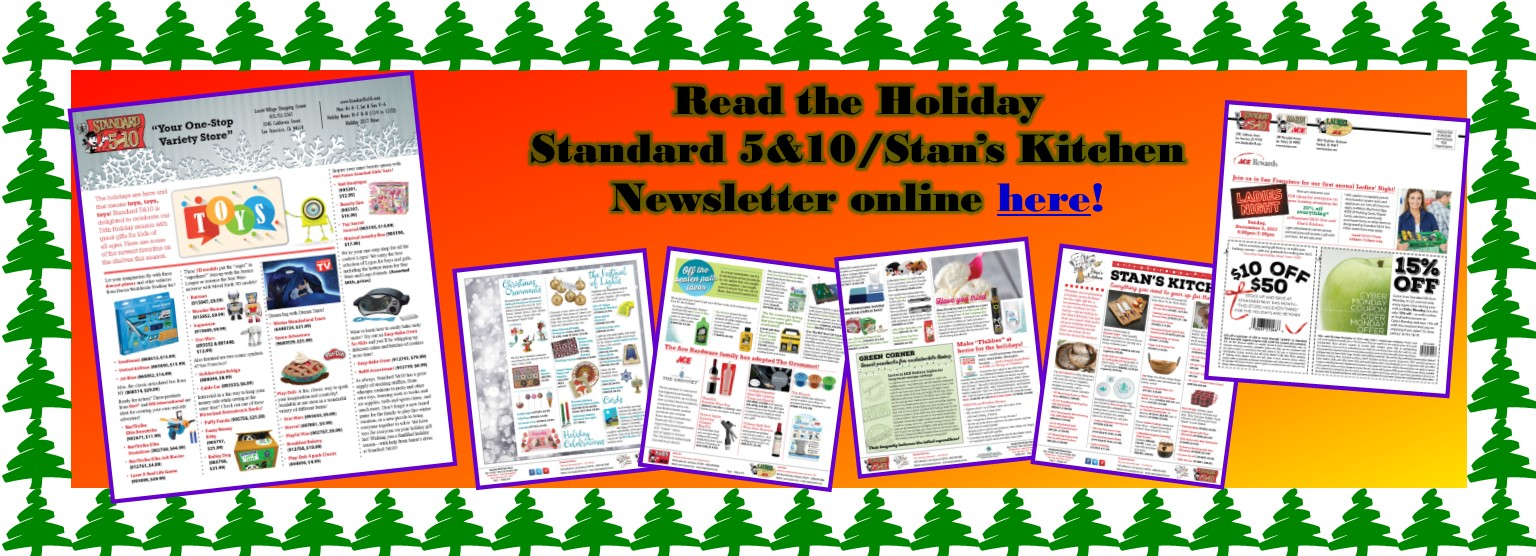 Holiday 5&10 Newsletter
