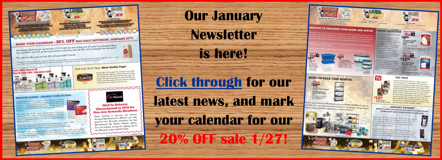 January 2018 Newsletter
