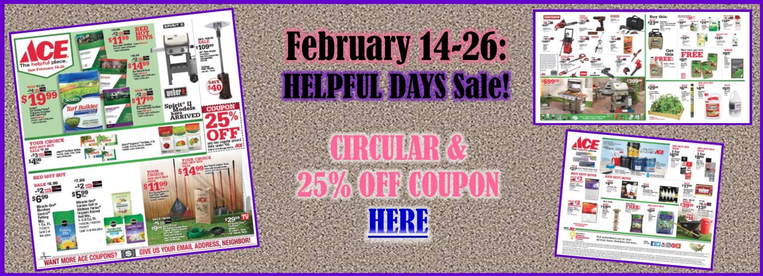 Slider February 14-26, 2018 Sale