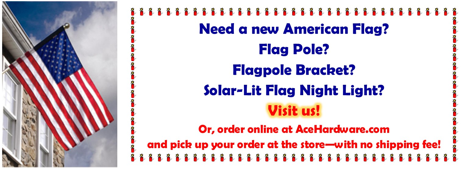 We have your American Flags & accessories