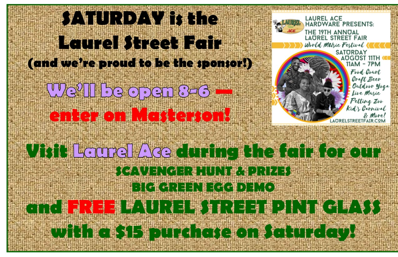 Laurel Street Fair 2018
