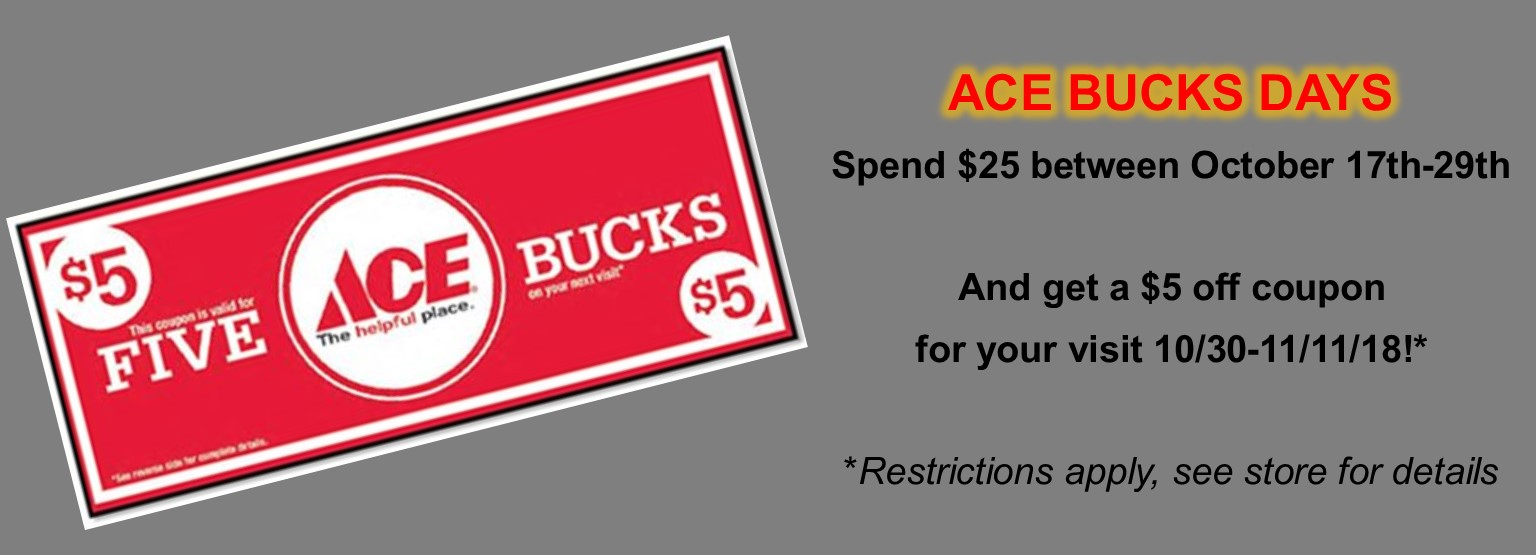 Slider Oct Ace Bucks