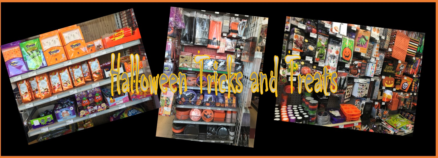Halloween tricks and treats