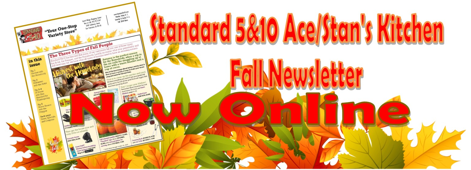 5n10 Fall Newsletter