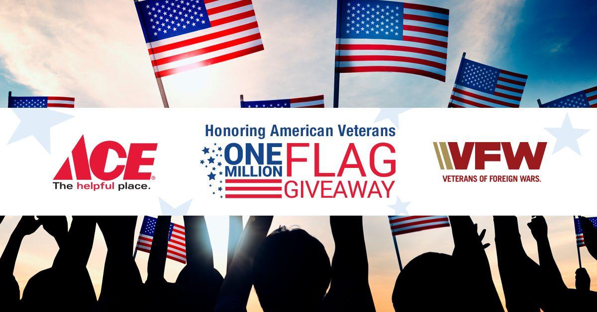 Million Flag Giveaway