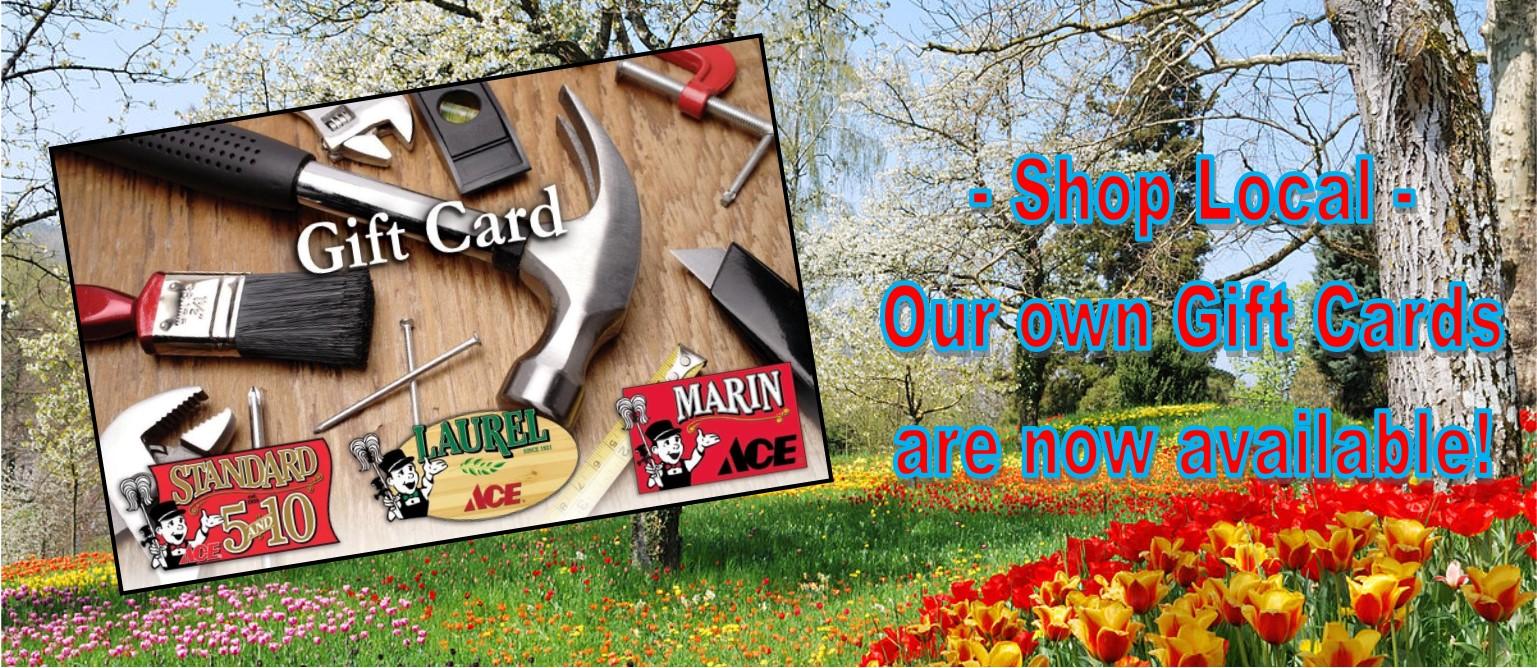 slider gift cards spring