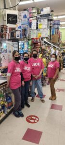 Our Pink October Ace Team